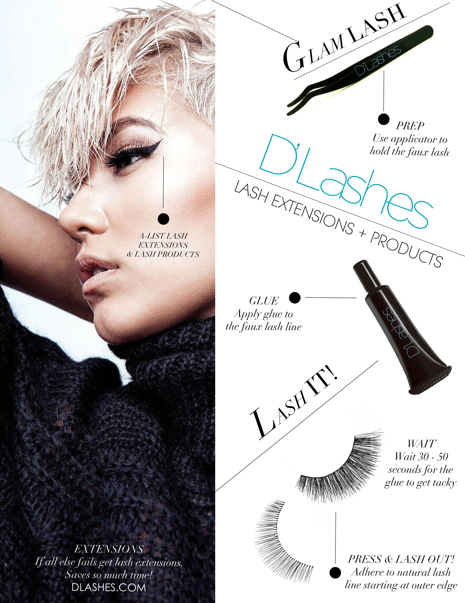 DLashes Lash Extensions Lashes Beauty How To