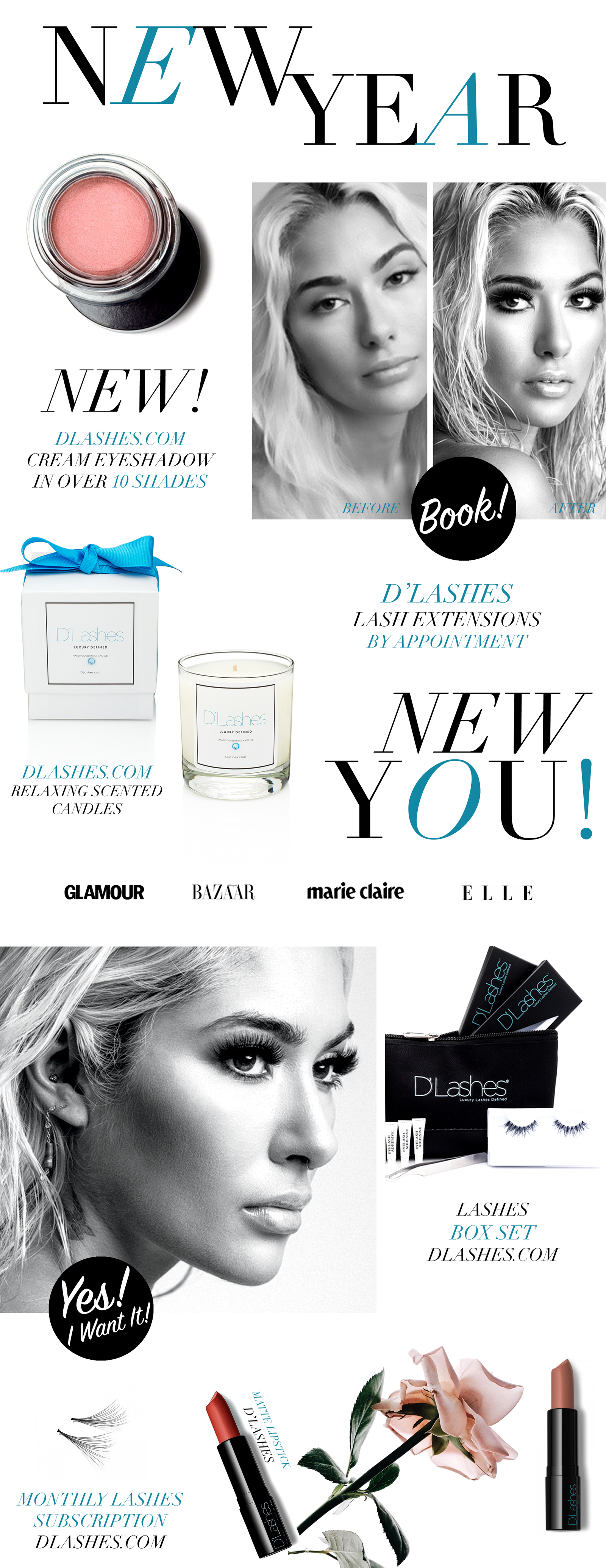 New D'Lashes New Year 2018 Beauty