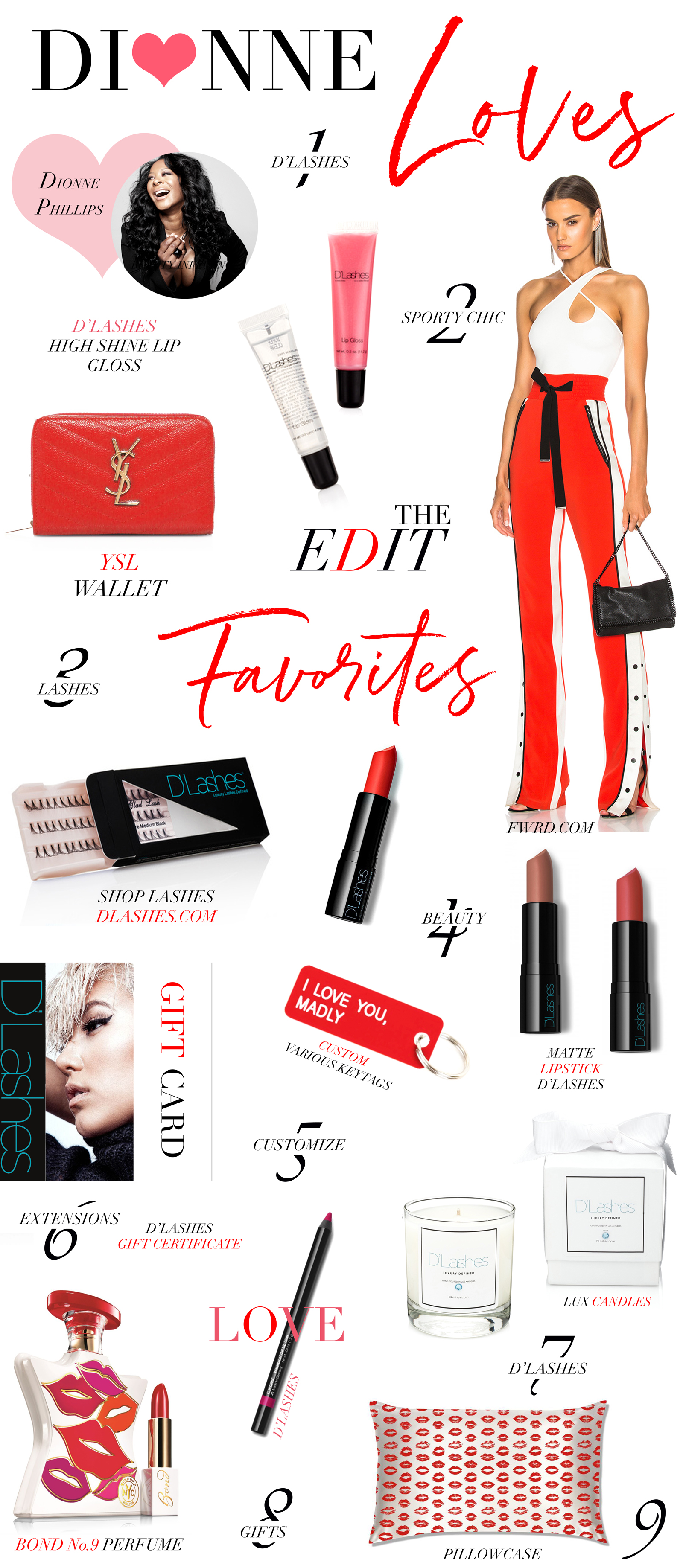 D'Lashes Valentine's Day Beauty Blogger Blog